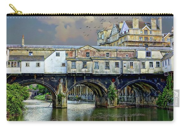 Historic Pulteney Bridge Carry-all Pouch