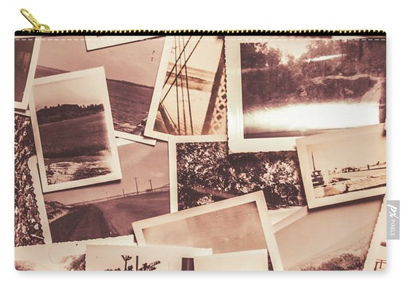 History In Still Photographs Carry-all Pouch