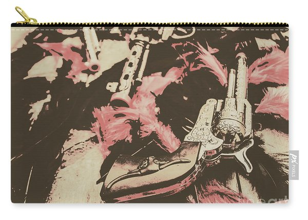 History In Western Rivalry Carry-all Pouch