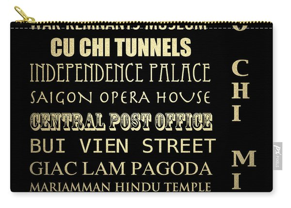 Ho Chi Minh Famous Landmarks Carry-all Pouch