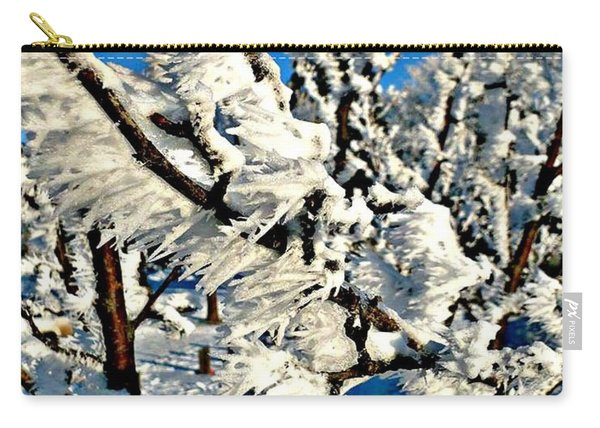 Hoar Frost Carry-all Pouch