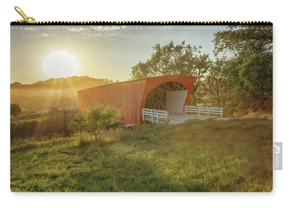 Hogback Covered Bridge 2 Carry-all Pouch