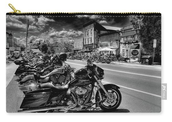 Hogs On Main Street Carry-all Pouch
