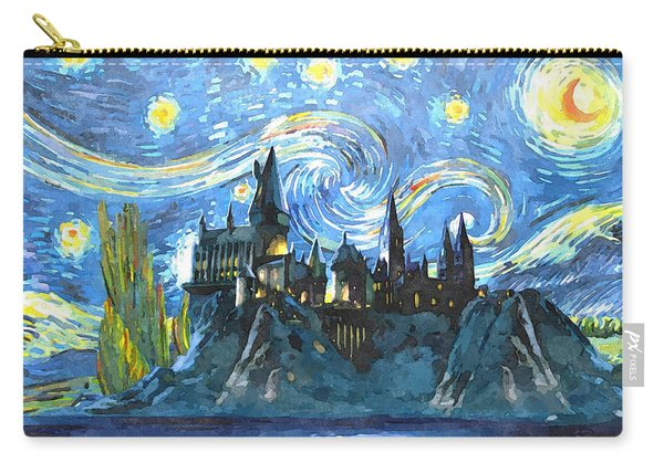 Harry Potter Starry Night Carry-all Pouch