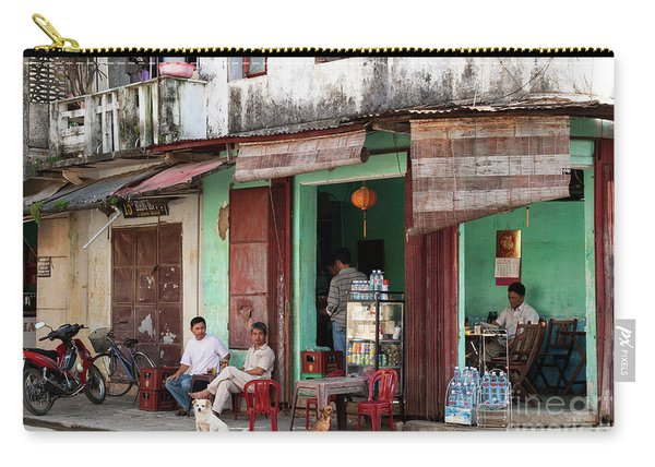 Hoi An Corner Cafe 01 Carry-all Pouch