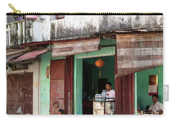 Hoi An Corner Cafe 02 Carry-all Pouch