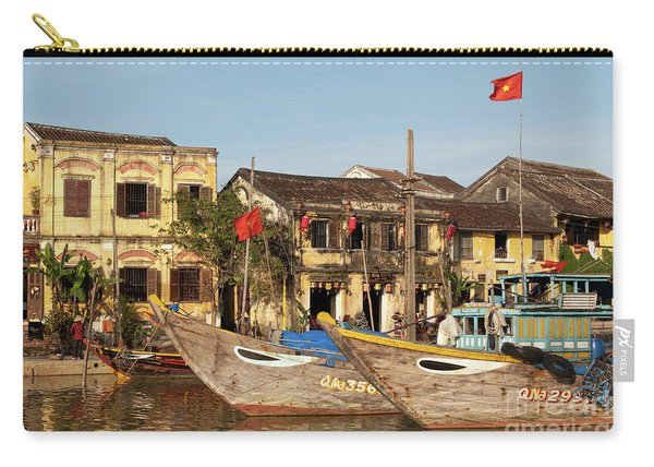 Hoi An Fishing Boats 07 Carry-all Pouch