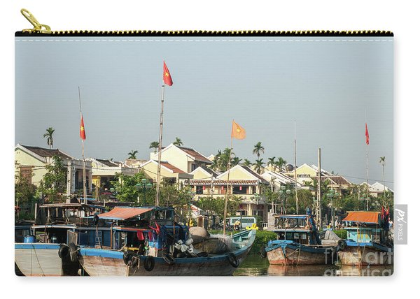 Hoi An Fishing Boats 09 Carry-all Pouch