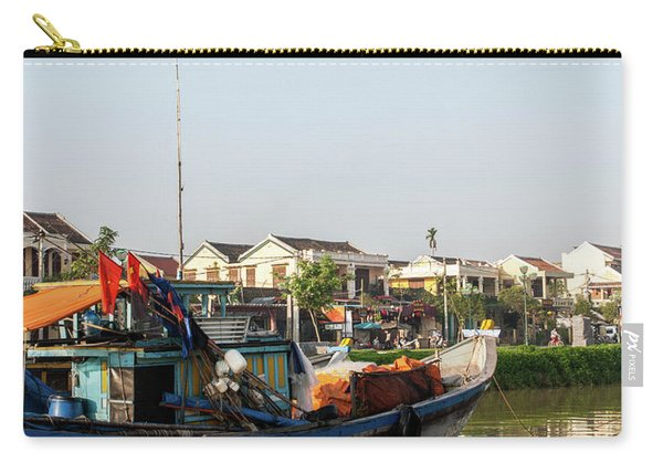 Hoi An Fishing Boats 10 Carry-all Pouch