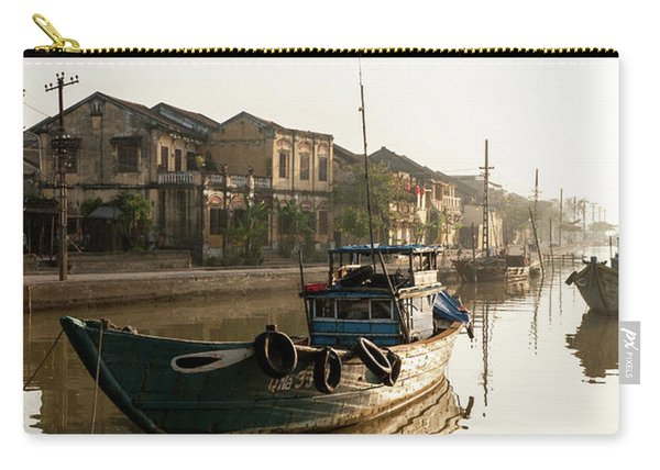 Hoi An Fishing Boats 15 Carry-all Pouch