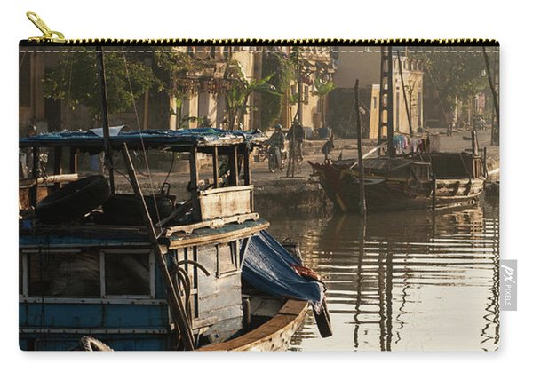 Hoi An Fishing Boats 18 Carry-all Pouch