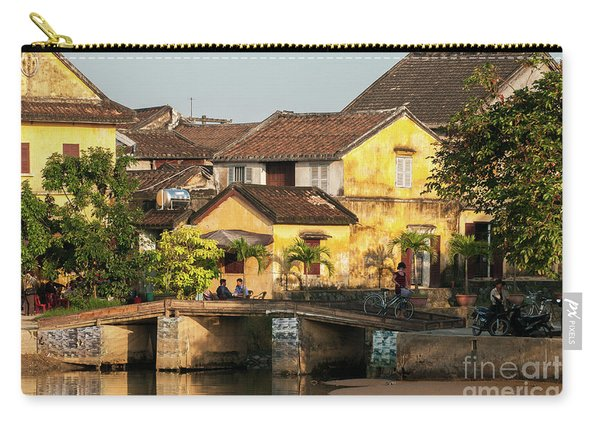 Hoi An Old Buildings 01 Carry-all Pouch