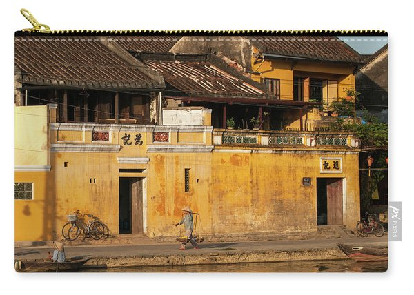 Hoi An Tan Ky Wall Hawker 23 Carry-all Pouch