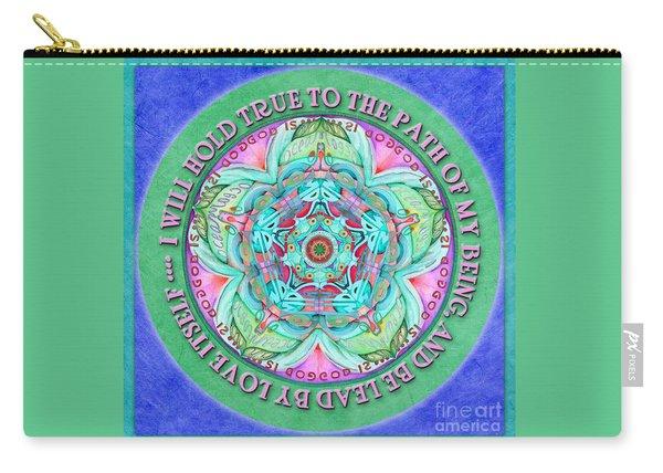 Hold True Mandala Prayer Carry-all Pouch