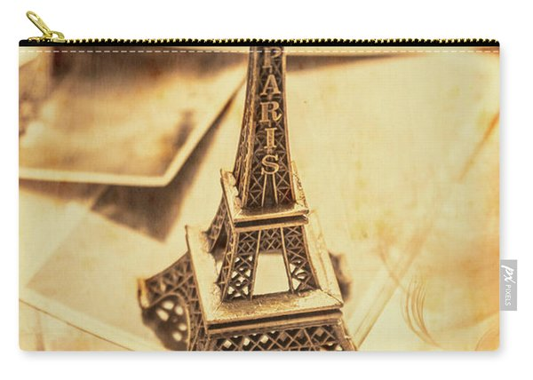 Holiday Nostalgia In Vintage France Carry-all Pouch