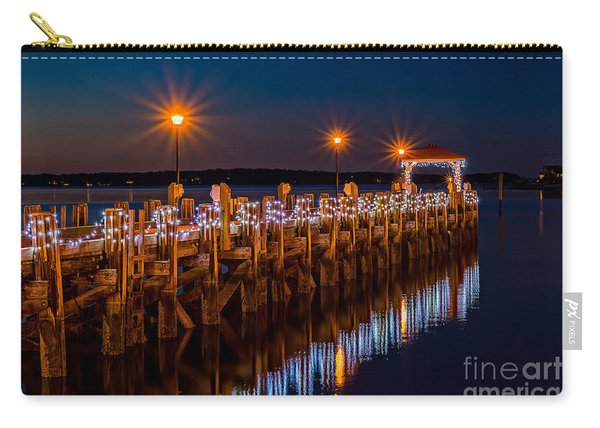 Holiday On The Docks Carry-all Pouch