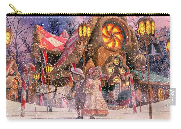 Holiday Village Carry-all Pouch