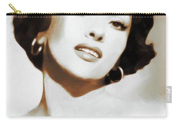 Hollywood Legends, Gina Lollobrigida Carry-all Pouch