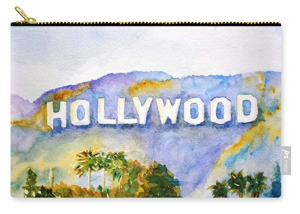 Hollywood Sign California Carry-all Pouch