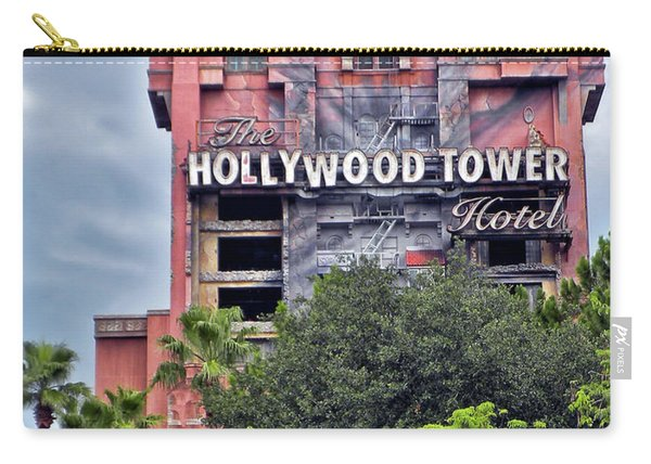 Hollywood Tower Hotel Walt Disney World Mp Carry-all Pouch