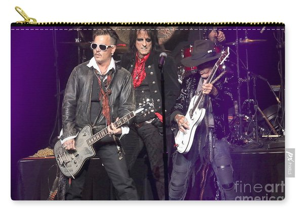 Hollywood Vampires Depp Cooper Perry Carry-all Pouch