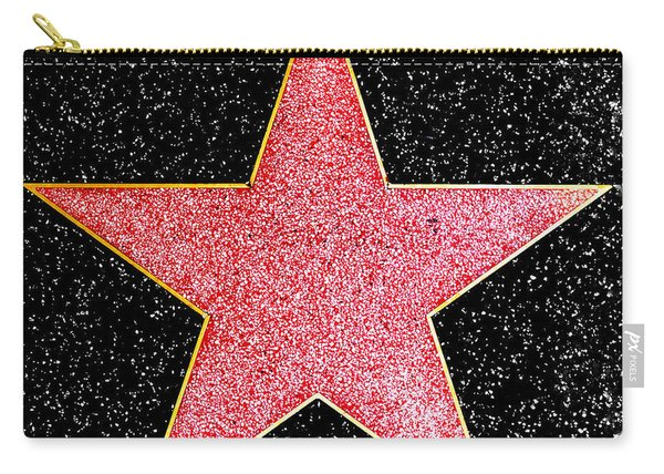 Hollywood Walk Of Fame Star Carry-all Pouch