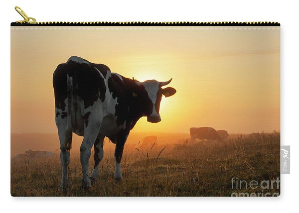 Holstein Friesian Cow Carry-all Pouch
