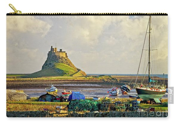 Holy Island And Lindisfarne Castle Carry-all Pouch