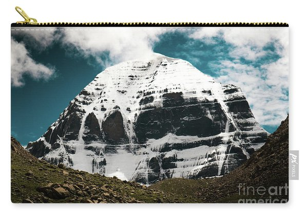 Holy Kailas North Slop Himalayas Tibet Yantra.lv Carry-all Pouch