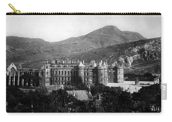 Holyrood From Calton Hill Carry-all Pouch