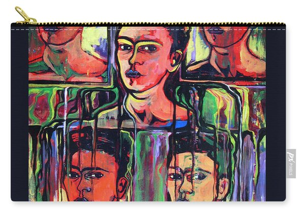 Homage To Frida Kahlo Carry-all Pouch