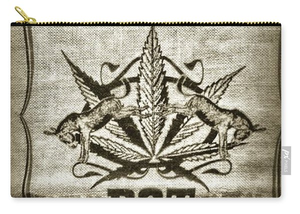 Home Grown Pot In A Sack Old Style Carry-all Pouch