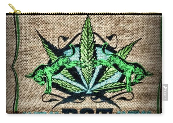 Home Grown Pot In A Sack Carry-all Pouch