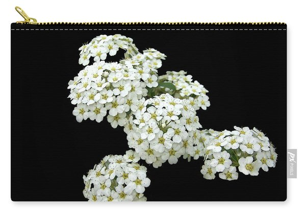 Home Grown White Flowers  Carry-all Pouch