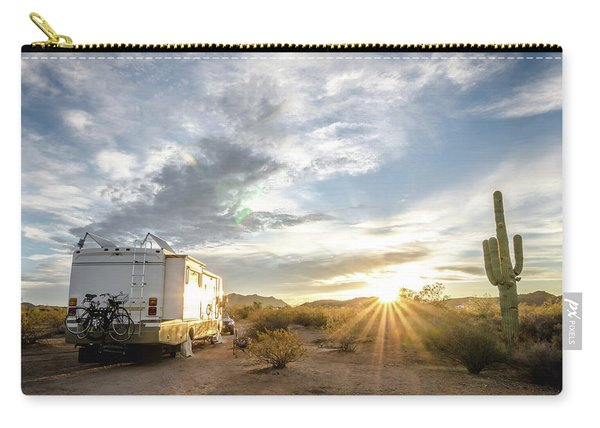 Home In The Desert Carry-all Pouch