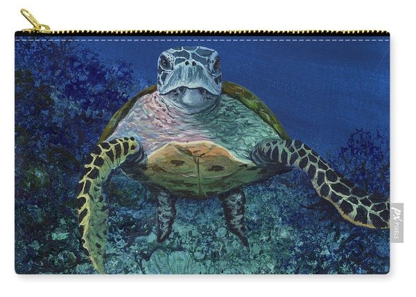 Home Of The Honu Carry-all Pouch