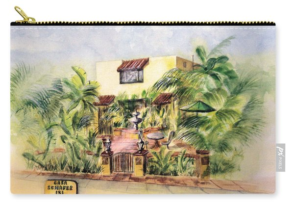 Home On Belmont Shore Carry-all Pouch