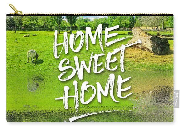 Home Sweet Home Pastoral Versailles Chateau Country Landscape Carry-all Pouch