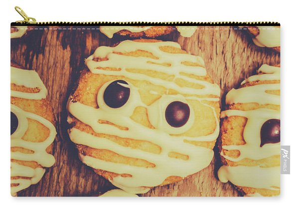 Homemade Mummy Cookies Carry-all Pouch