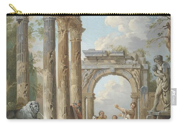 Homily Of An Apostle In Roman Ruins Carry-all Pouch