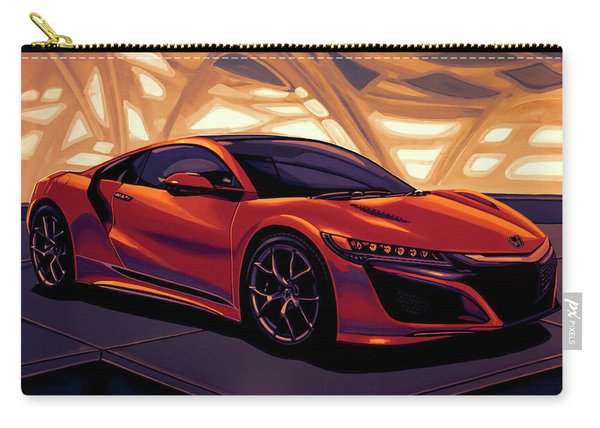 Honda Acura Nsx 2016 Mixed Media Carry-all Pouch