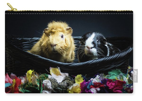 Honey And Kit Carry-all Pouch