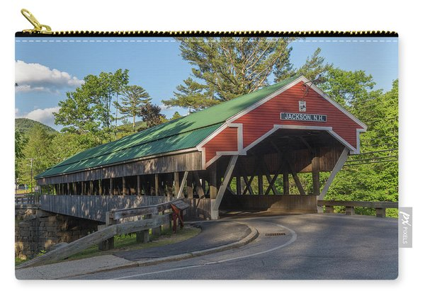 Honeymoon Covered Bridge In Jackson New Hampshire Carry-all Pouch