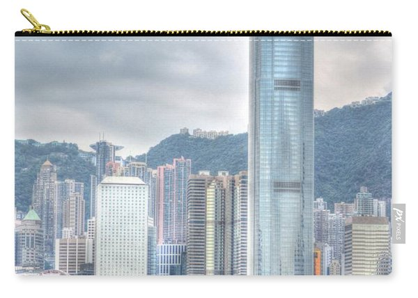 Hong Kong China 2 Carry-all Pouch