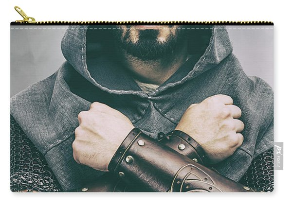 Hooded Viking Warrior Carry-all Pouch