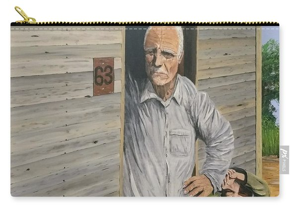 Carry-all Pouch featuring the painting Hooper Ranch #63 by Kevin Daly