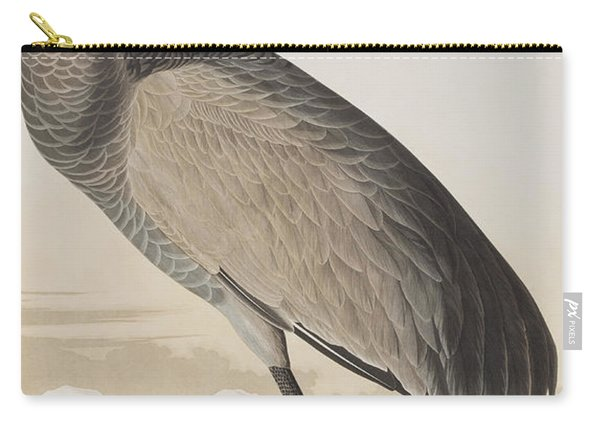 Hooping Crane Carry-all Pouch
