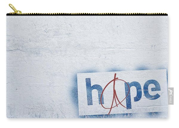 Hope And Peace Carry-all Pouch