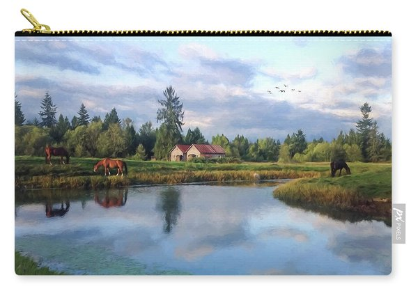 Hope Is Not A Dream - Hope Valley Art Carry-all Pouch