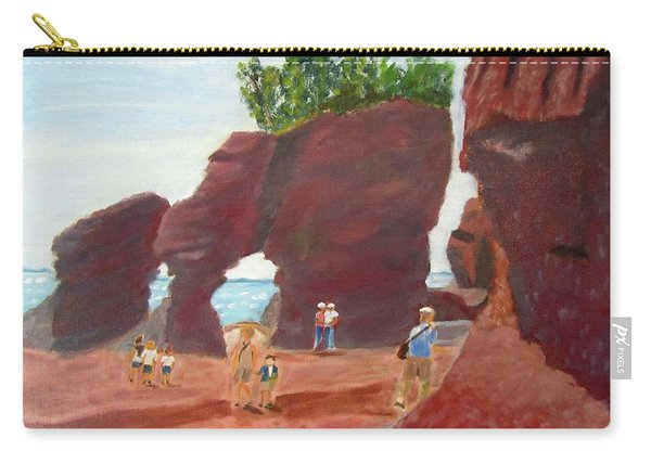 Hopewell Rocks2 Carry-all Pouch